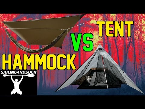 Hammock Vs Tent Camping: Why I choose...