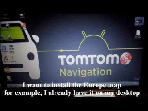 [HD] How to Install Free Unlocked Maps on TomTom Devices | TomTom GPS Free Maps