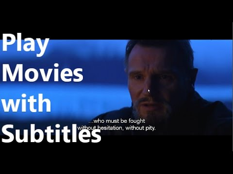 How to watch movies with Subtitles on PC and TV