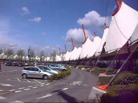 Ashford designer outlet shopping centre and work of art