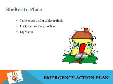 OSHA Safety: Emergency Action Plan EAP