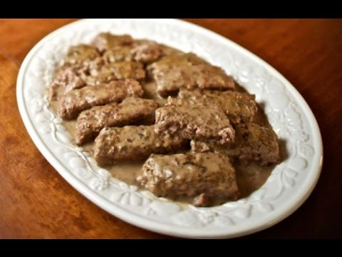 POOR MAN'S STEAK   AMISH RECIPE | HOW TO MAKE RECIPES | EASY WAY TO MAKE RECIPES