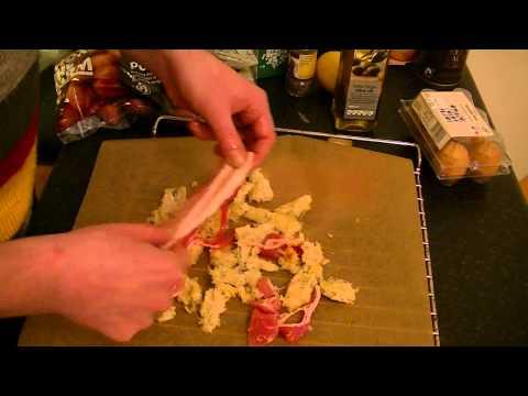 Warm Bacon & Egg Salad - The Punkrock-Kitchen (even Punks have a good taste)