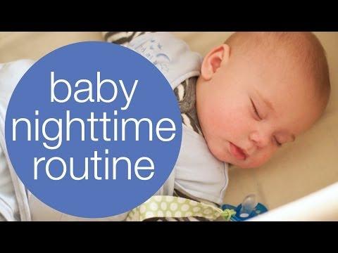 BABY NIGHTTIME ROUTINE