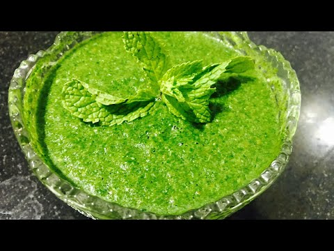 Sandwich Chatni  green Chutney for sandwich  simple green sandwich  Chutney