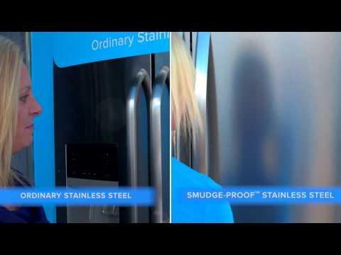 Smudge-Proof Refrigerator Challenge: Stainless Steel Refrigerators | Frigidaire