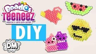 DIY Emoji Keychains with Beados Teeneez! - Back to School DIY | Dream Mining