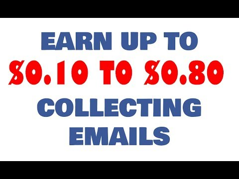 Collect Email and Get paid via Paypal