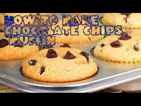 How to make chocolate chips muffins