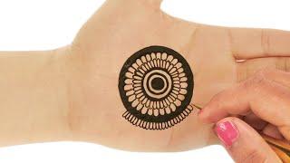 Beautiful Arabic Henna Mehndi Design For Hands : New Latest Mehndi Design #167 @ jaipurthepinkcity