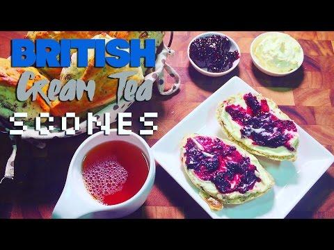 How to Make British Cream Tea Scones