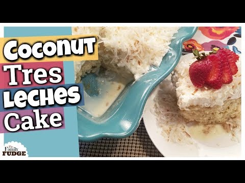 Coconut Tres Leches Cake Recipe & Recipe Binder GIVEAWAY!