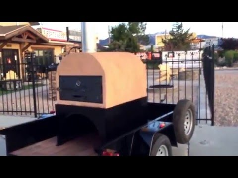 Mobile Pizza Oven on Trailer