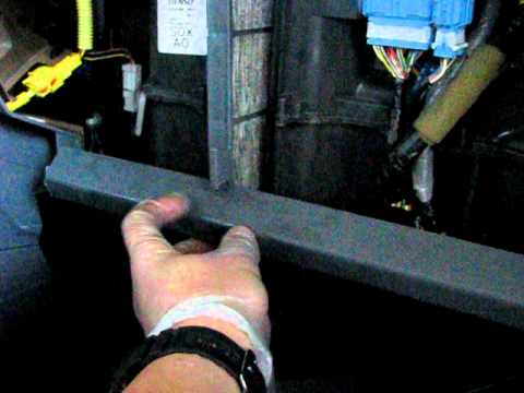 Cabin air filter replacement- Honda Pilot