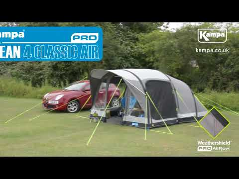 Kampa  2018 Pro AIR Tents  Key Features  Overview