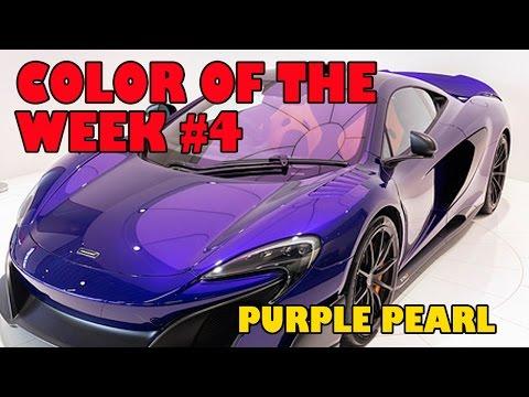 Custom Purple Pearl Color of the week #4