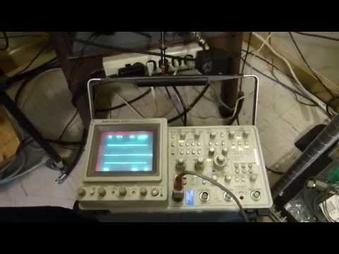 Power Measurements Using A Bird RF Power Meter and Comparing to Oscilloscope Readings