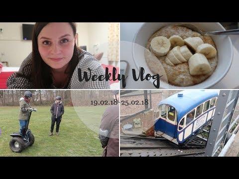 Weekly Vlog | Steam Trains & Segways 🚂