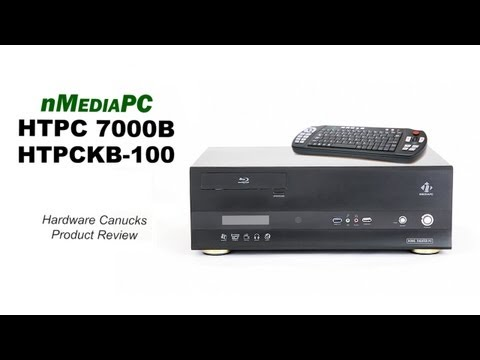 nMedia HTPC 7000B Case Review