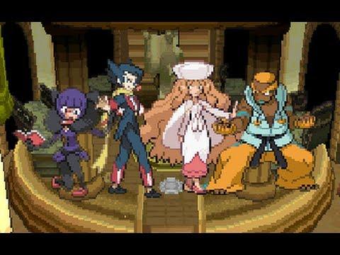 Pokemon Black 2 Walkthrough 56 - Unova Elite Four