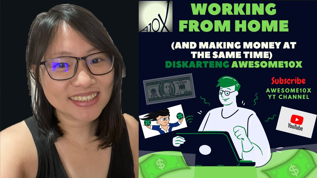 🔴  Working from Home (And Making Money at the Same Time) - Diskarteng Awesome10X!!!