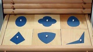 Alison's Montessori: Geometric Cabinet (Premium Quality) (PS18)