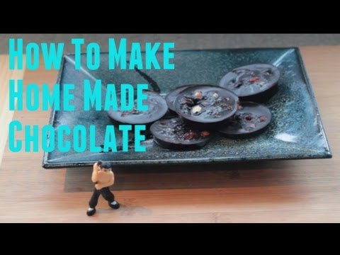 How to Make Amazing Homemade Chocolate in under 5 mintues