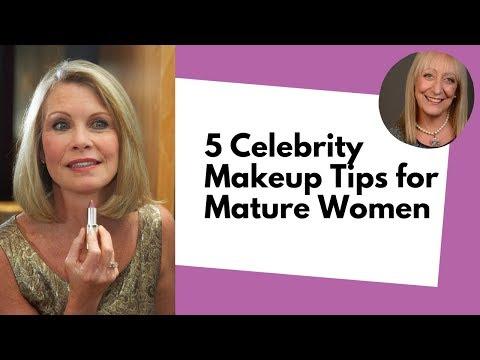 5 Surprising Celebrity Makeup Tips for Fabulous Older Women