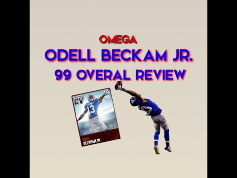 Madden Mobile: 99 Odell Beckam Jr. Player Review! (Cover Vote Winner)