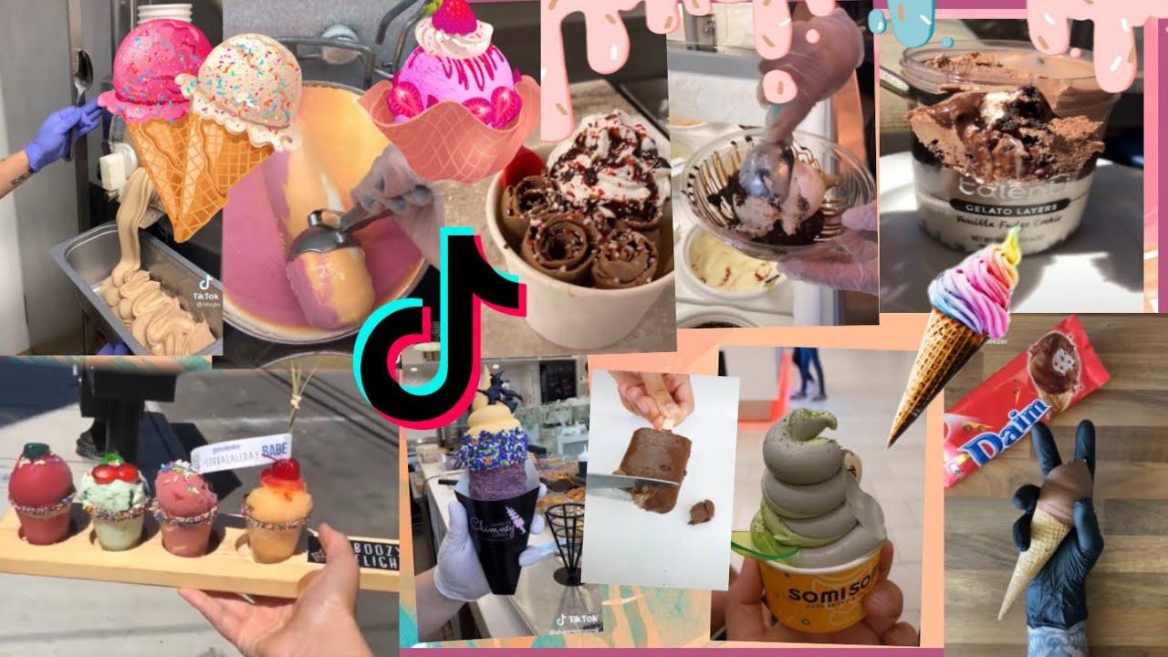 Satisfying ice cream || tiktok compilation!