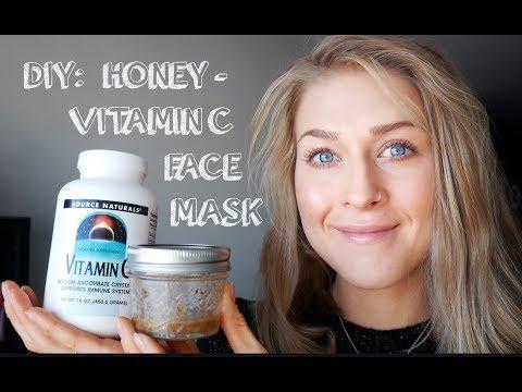 DIY Honey and Vitamin C Face Mask Recipe: Reduce Scars, Anti-Aging, Anti-Acne