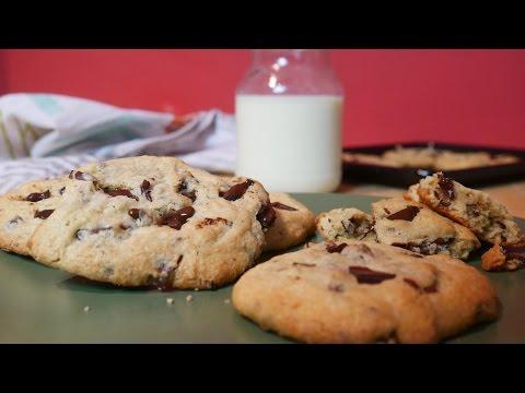 Chocolate Chip Cookies 🍪 Soft baked mit Schokolade | Veggie Wednesday #11 | Let's Cook