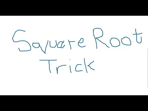 How to find out square root in 5 seconds in hindi and urdu