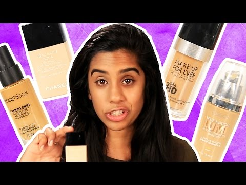 I Asked For Foundation Recommendations From 4 Different Beauty Counters
