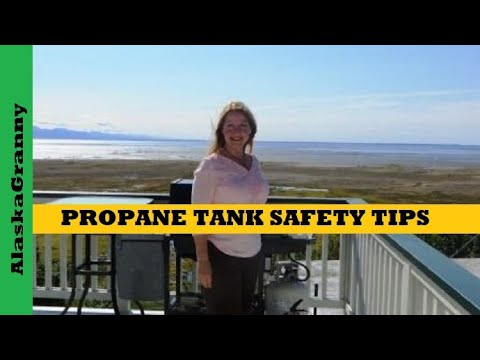 Propane Tank Safety For Barbecue Grills