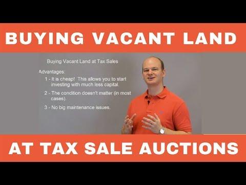 Buying Vacant Land at Tax Deed Sales