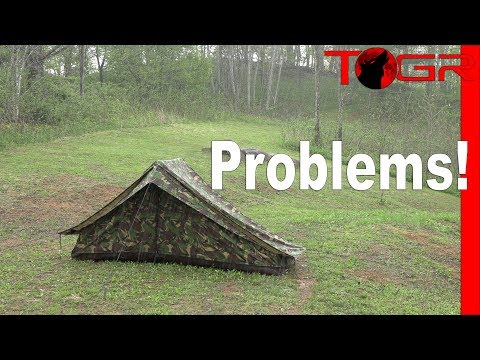 DON'T BUY - Military Tent Failure! - Dutch Special Forces 2 Man Tent