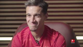 Former Liverpool star Philippe Coutinho talks first goal for Bayern Munich at Bundesliga