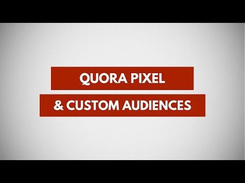 Using Quora Pixel To Create Custom Audiences | Quora Ads Tutorial
