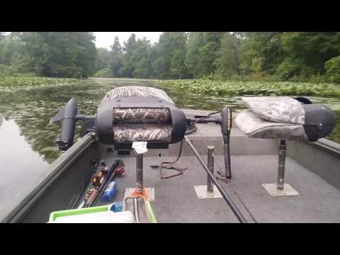 Reelfoot Fishing- Running the ditches
