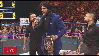 #SDLIVE WWE Jinder Mahal BROCK LESNAR Survivor Series Challenge SmackDown wwe news news 2017
