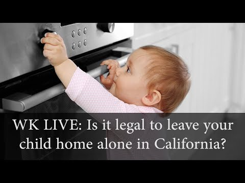 Is It a Crime to Leave Your Child Home Alone?