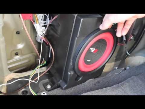 Aftermarket Subwoofer In 2011 Honda Odyssey LX How To