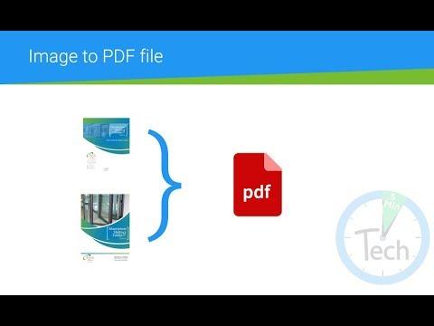 Convert Image to PDF on Mac