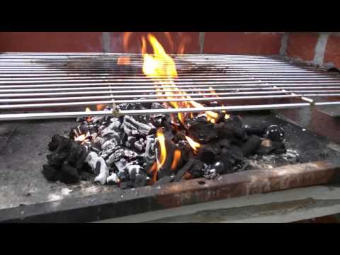 BBQ in Cornwall using the Co-Operative 2 Instant Lighting Lumpwood Charcoal Bags