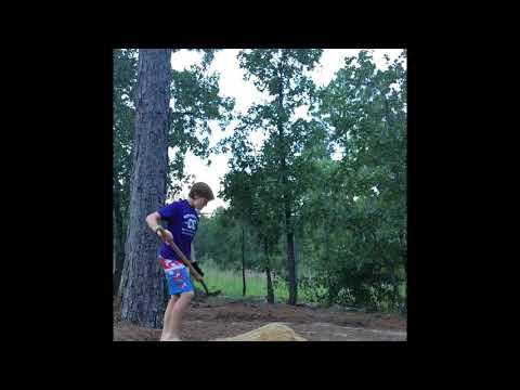 Building a bike jump in my back yard