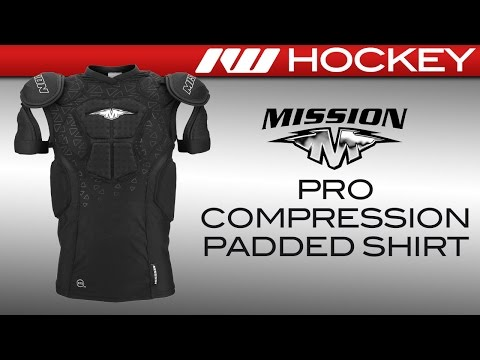 Mission Pro Compression Padded Roller Hockey Shirt Review