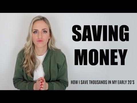 HOW TO SAVE MONEY: 5 EASY WAYS I SAVE MONEY!
