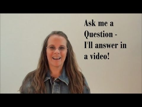 Colleene Answers Questions (Ep. 1):  Ask Me a Question