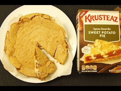 How to make Krusteaz Sweet Potato Pie